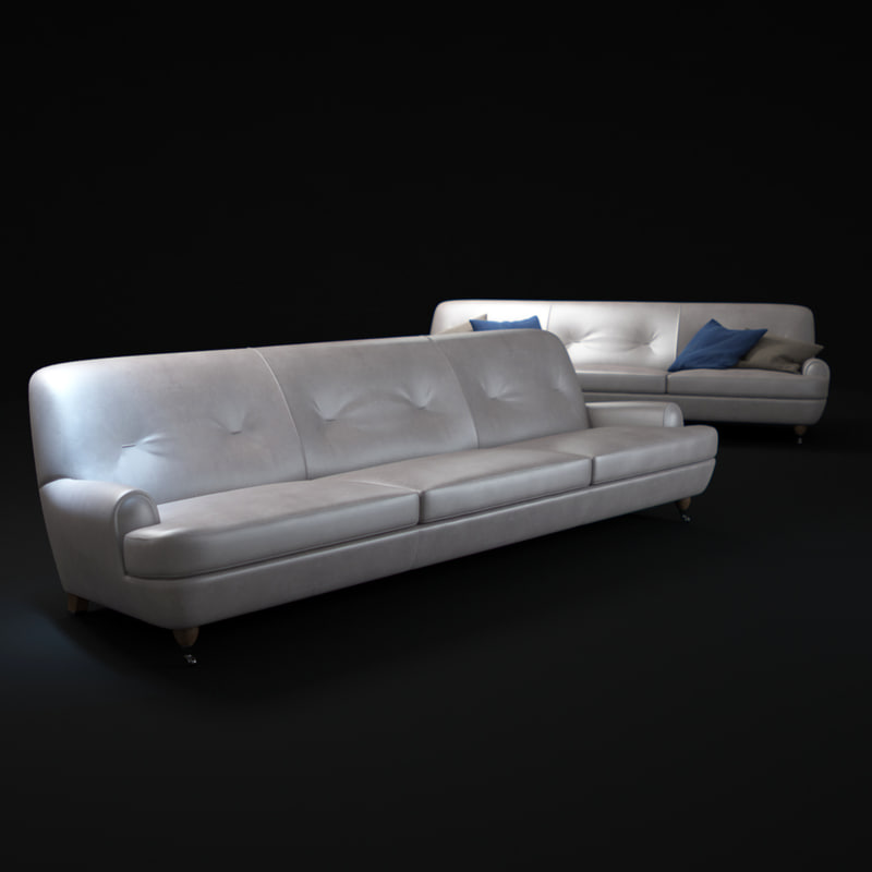 novecento-sofa 3d model