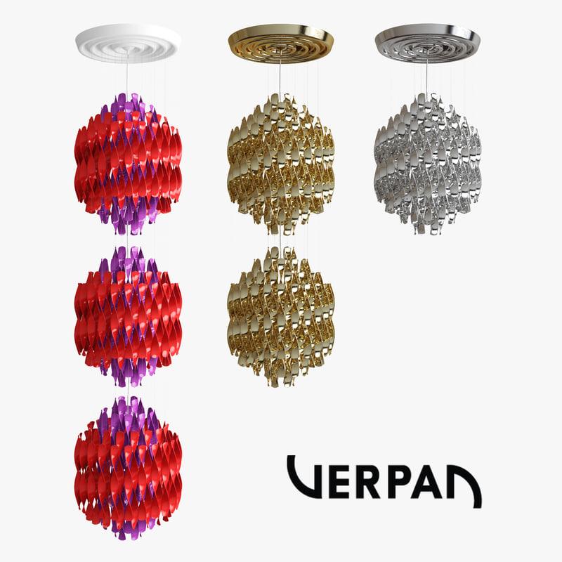 max spiral pendants verner