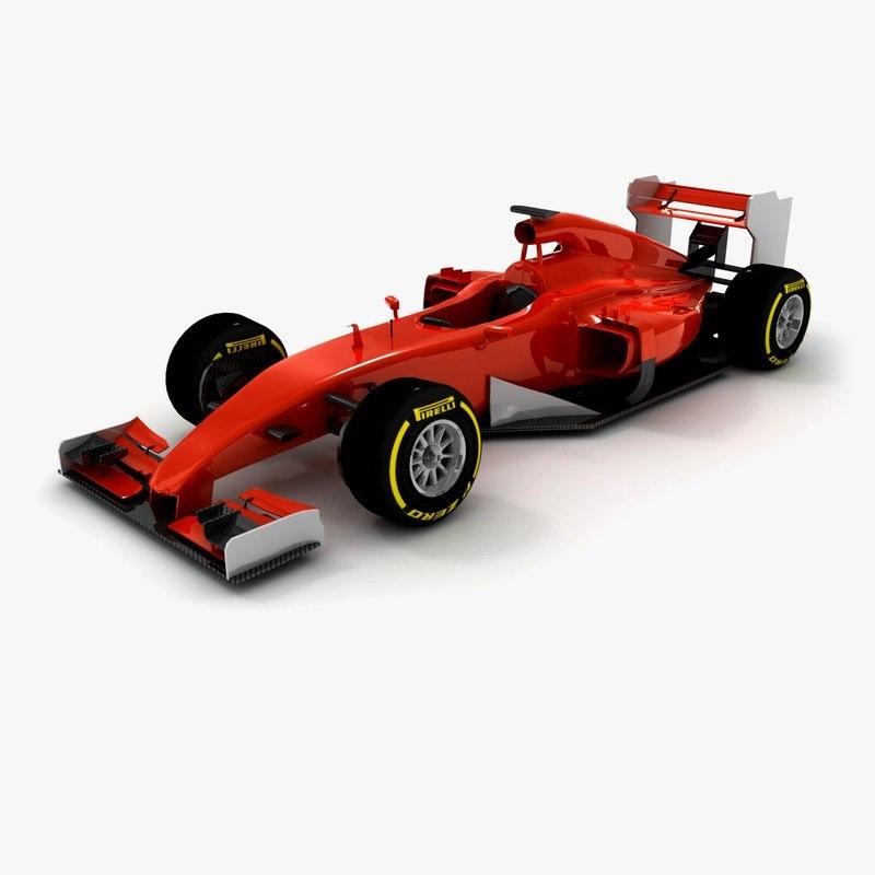 3d model generic formula 1 2015