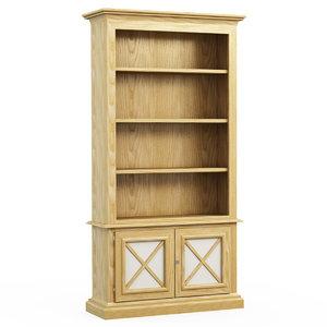 3d bookcase isabella costantini