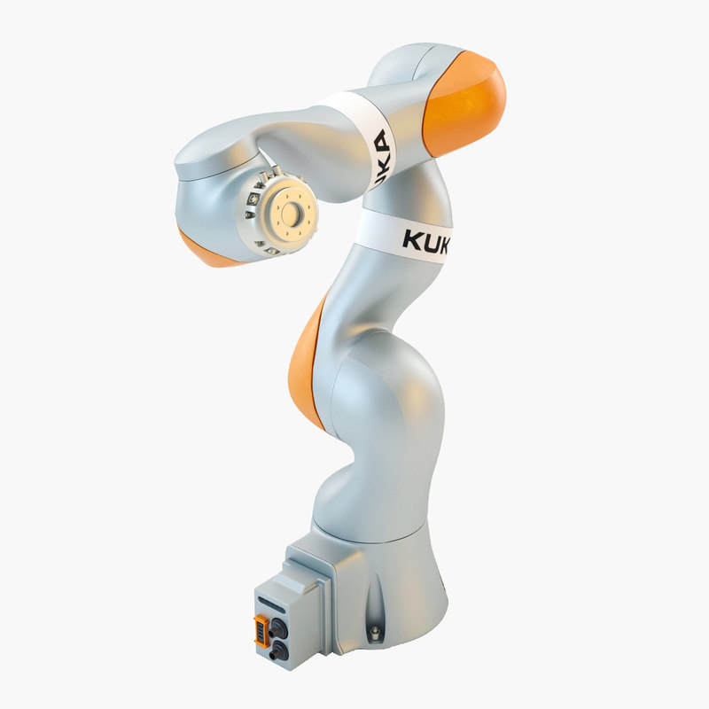 3d max kuka iiwa robot industrial