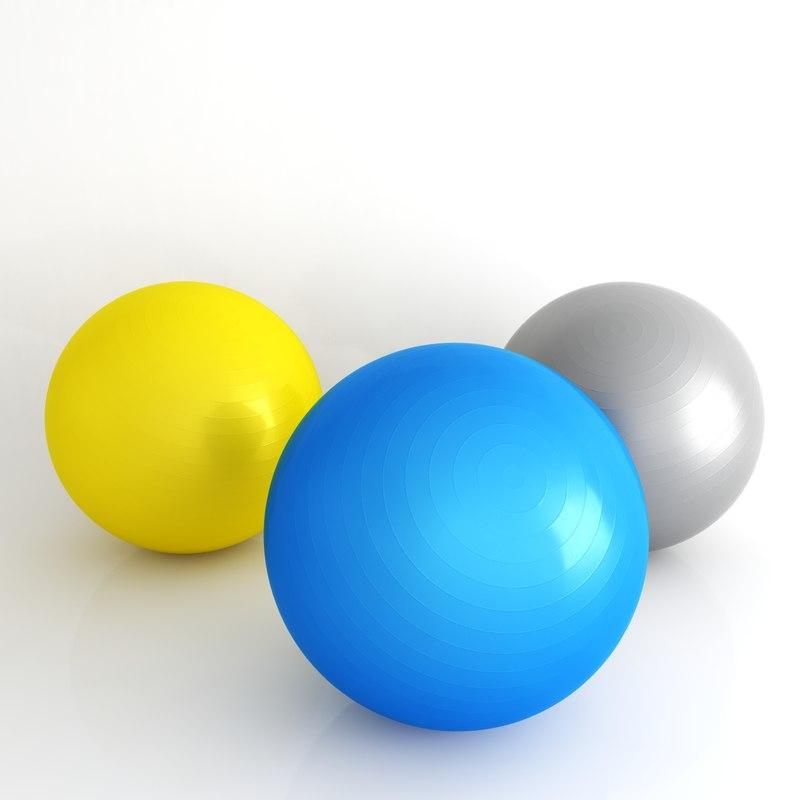3d gym ball pilates