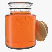 Jar Of Honey 3D Model