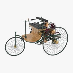 3d model benz patent motor car