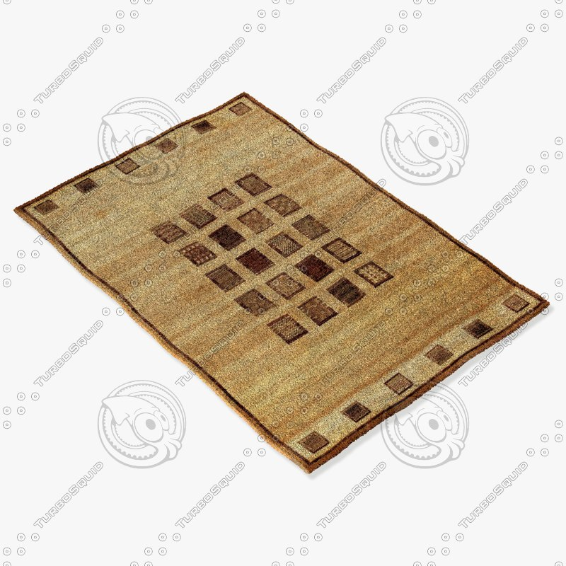 3d ragotex rugs 500242727 model