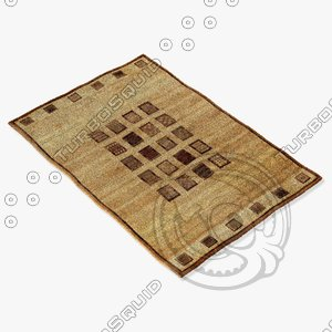 3d ragotex rugs 500242727 model