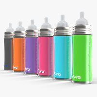 Pura Kiki Insulated Infant Bottle 11OZ 4 in 1