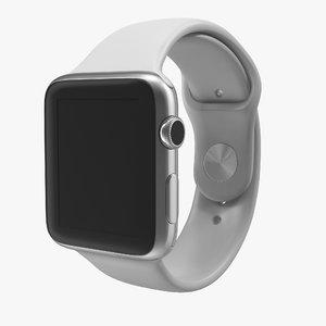 apple watch 42mm sport 3d max