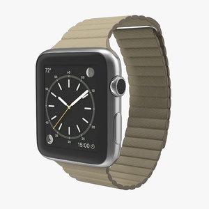 max apple watch 42mm stone