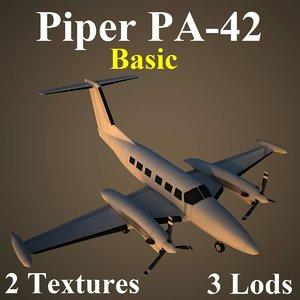 3d model piper basic