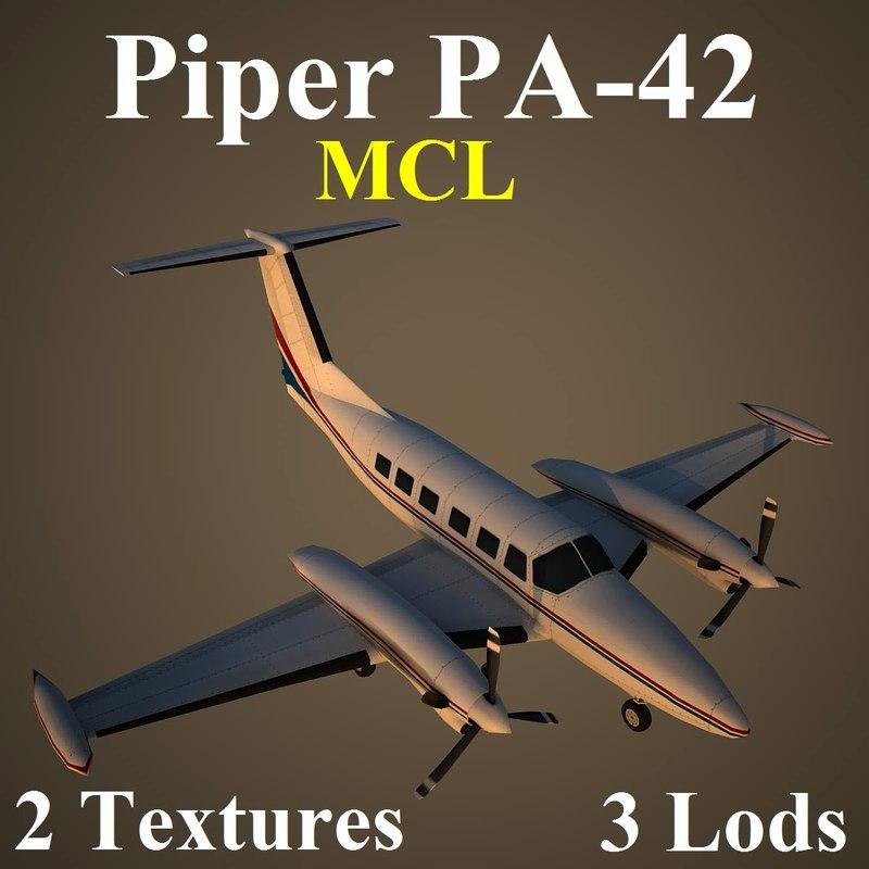 piper mcl 3d model