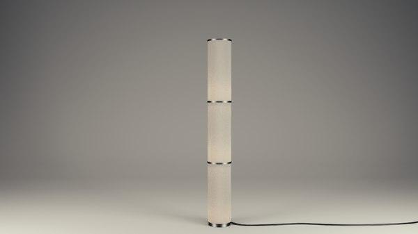3d nice ikea lamp