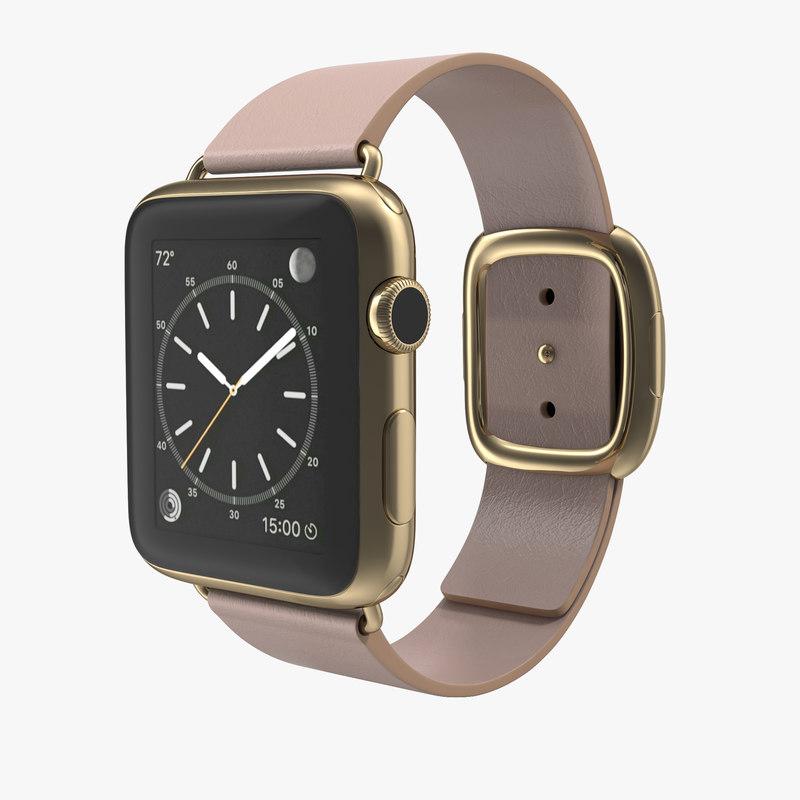 apple watch 42mm soft 3d model