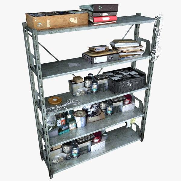 metal shelving clutter 2 max