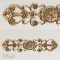 Decorative scroll | Ng_009