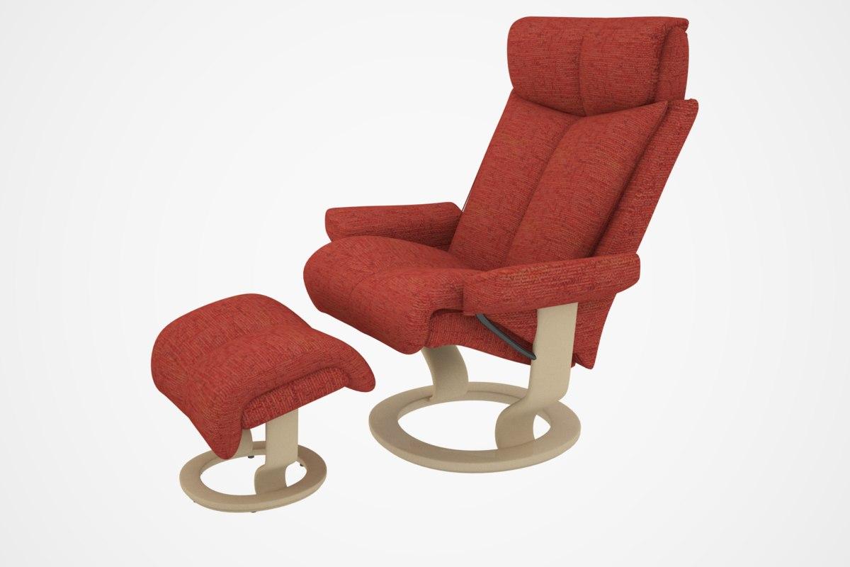 3ds magic chair sofa
