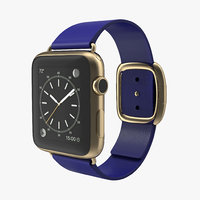 3d apple watch gold 42mm
