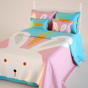 children bed 3d max