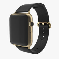 apple watch 42mm classic 3d model