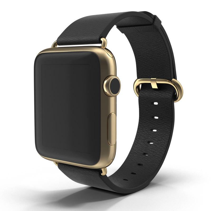apple watch 42mm classic 3d model