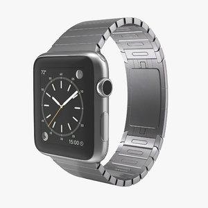 3d apple watch 42mm link