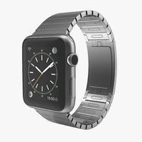 3d apple watch 42mm link model