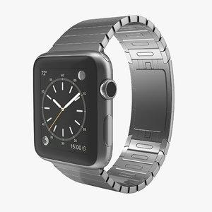 3d apple watch 42mm link model