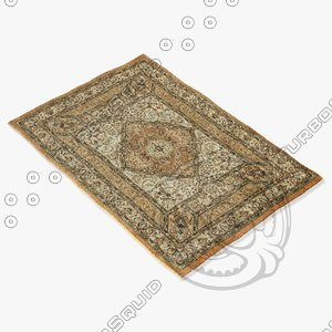 ragotex rugs 614452727 3d model