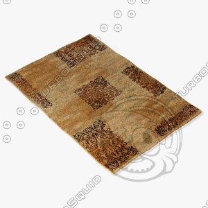 ragotex rugs 617276868 3d model