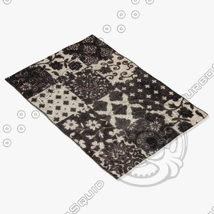 ragotex rugs 30054653590 3d model