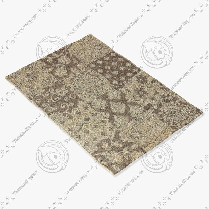3d model of ragotex rugs 30054656590