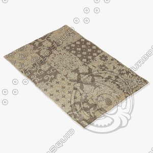 3d model of ragotex rugs 30054656590