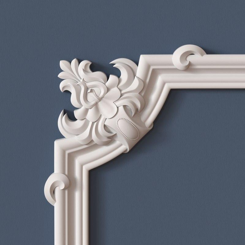 3ds max molding corner