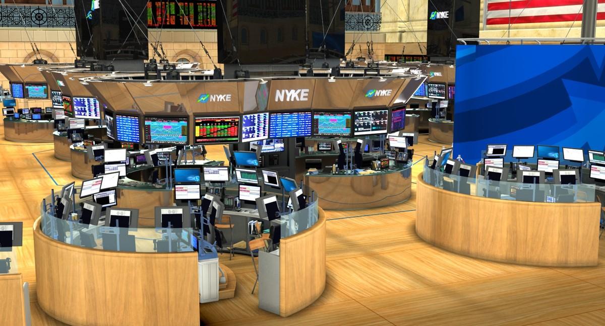 stock new york 3d model