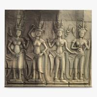Ankor Wat Bas Relief 2 3D Scan