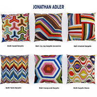 3d pillow jonathan adler