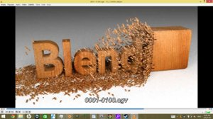 3d model animation wood text