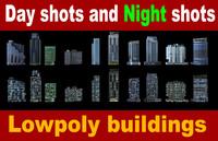 building apartment balcony 3d model
