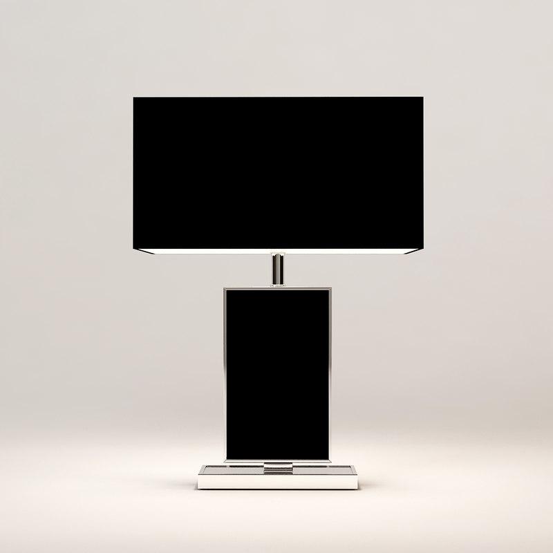 table lamp hyperion eichholtz 3d model