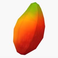 flat mango 3d c4d
