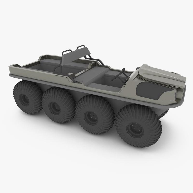 amphibious vehicle argo max