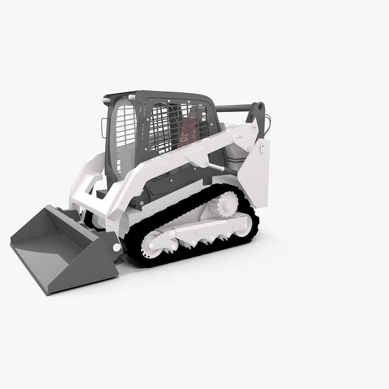 3d model of truck compact