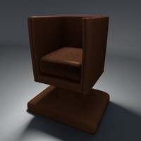 simple leather chair blend free