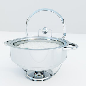 3d model chafing dish
