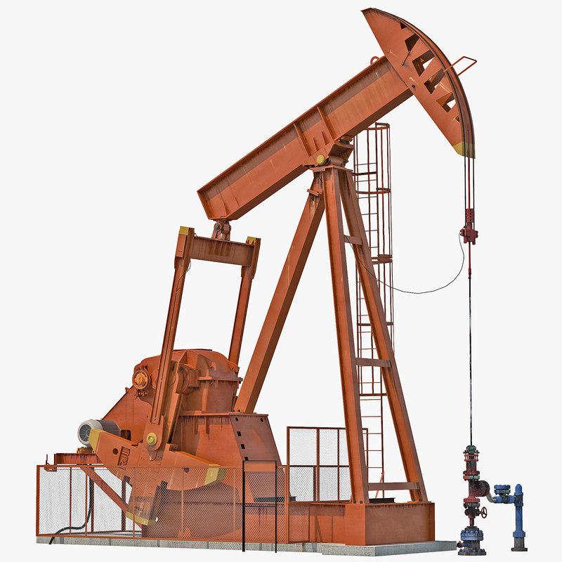 oil pump jack rigged max