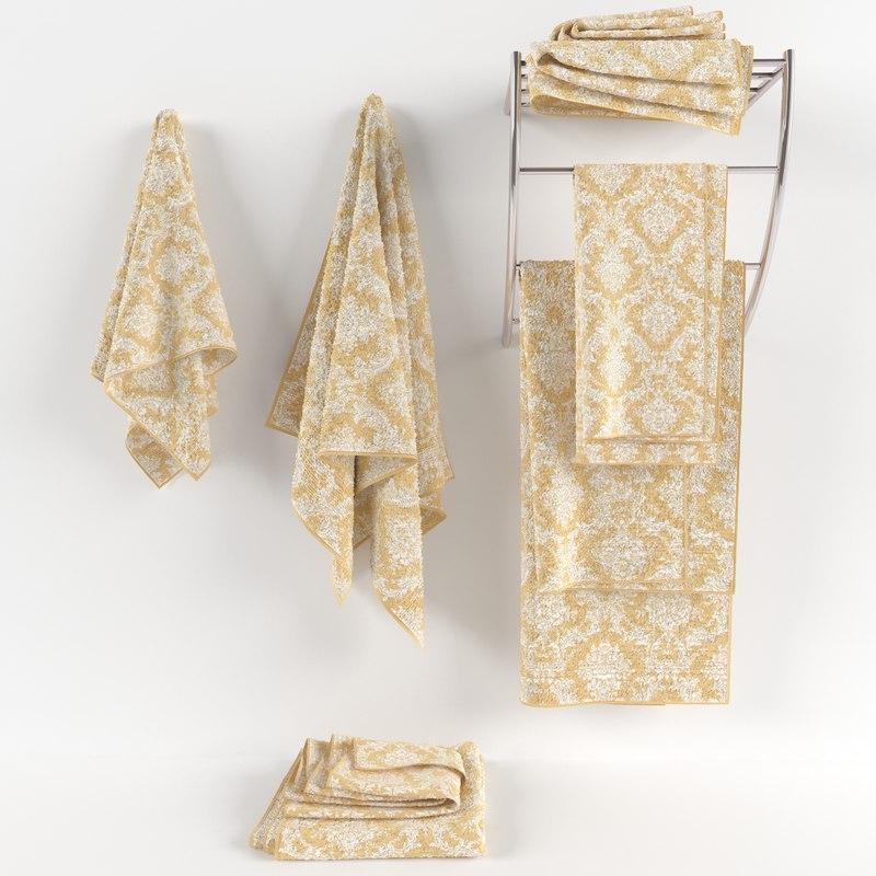 3d towels fabric