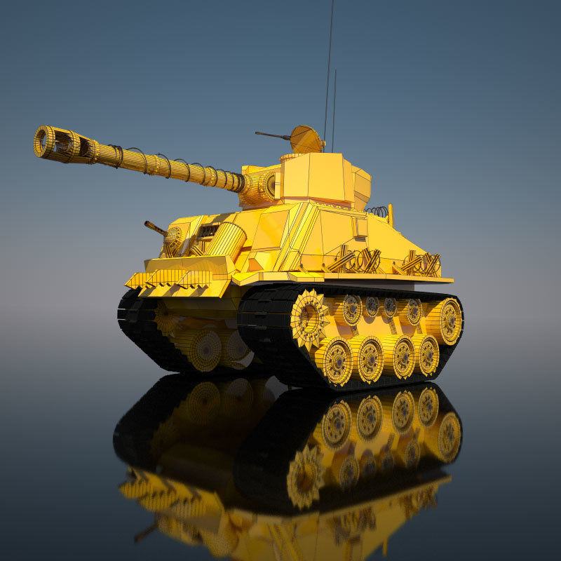 3d 3ds tank