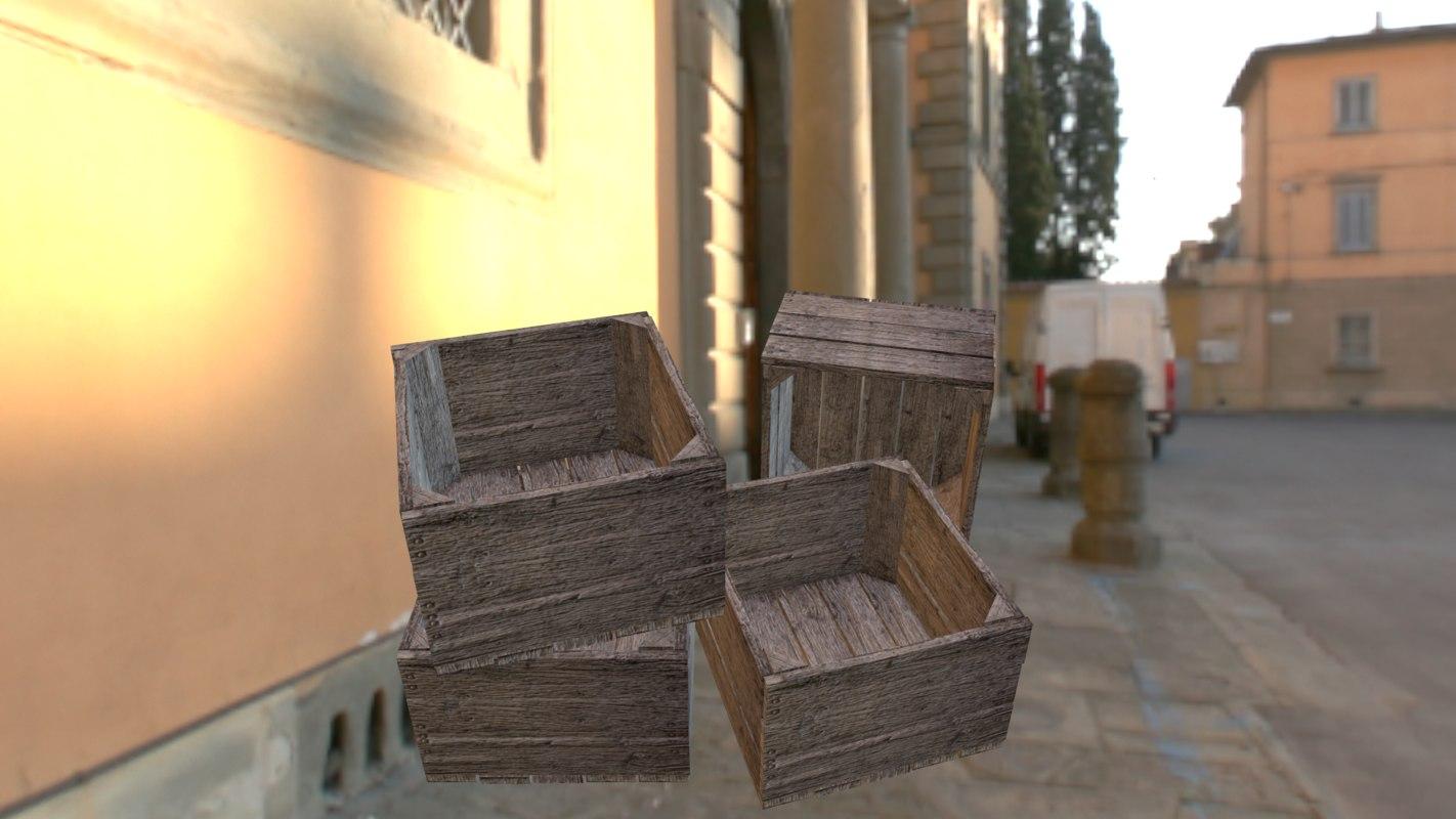 free ma mode wood crate