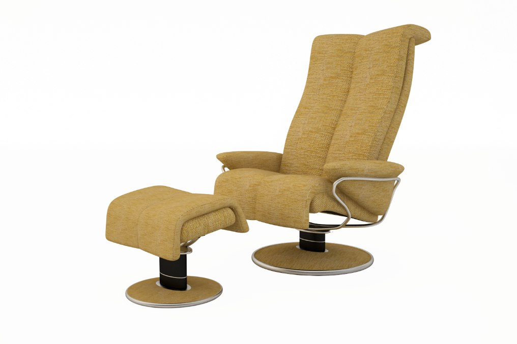3d model blues palorma chair sofa