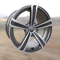 OZ Montecarlo HLT wheel rim
